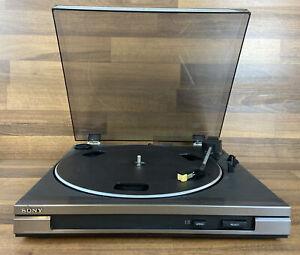 Sony-Stereo-Turntable-System-ps-lx47p-TOP-Zustand-kaum-benutzt-Plattenspieler