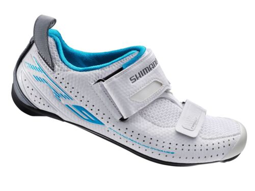 Shimano SH-TR9W Damen Triathlon Kohlenstoff Rennrad Schuhe Weiß 38 Us 6.5 Tr9