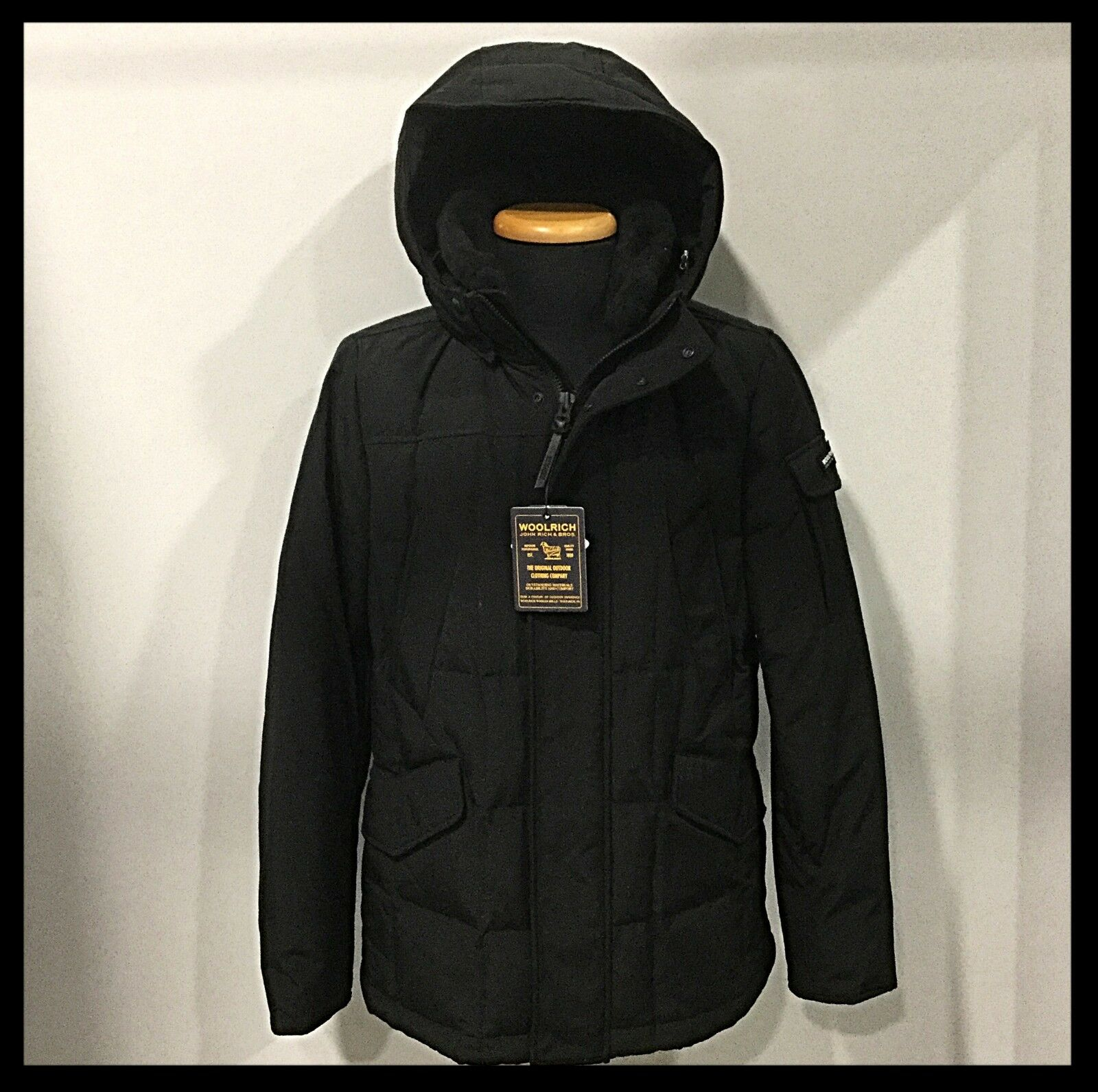 WOOLRICH - Giaccone Blizzard Field Jkt - Col. NERO