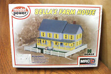 MODEL POWER BELLA'S FARM HOUSE N SCALE BUILDING KIT