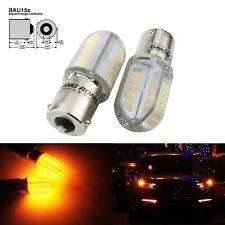 2x BAU15s 581 PY21W SAMSUNG LED Stop Brake Turn Signal Indicator Side Light Bulb