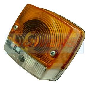 hella square front side indicator light lamp massey. Black Bedroom Furniture Sets. Home Design Ideas