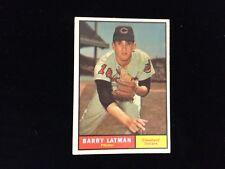1961 Topps Barry Latman Cleveland Indians #560 Baseball Card