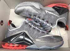 acb3480e005bf item 2 Nike Lebron XII 12 Low Wolf Grey Hot Lava BHM 724557-014 Sz 8 -Nike  Lebron XII 12 Low Wolf Grey Hot Lava BHM 724557-014 Sz 8