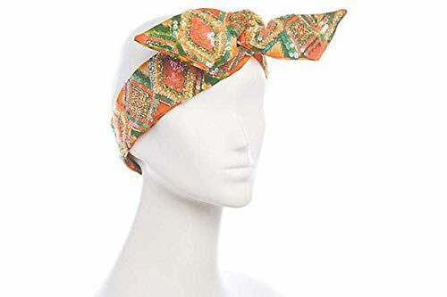 Deepa Gurnani Deepa Beaded Wire Head Wrap Gold Color