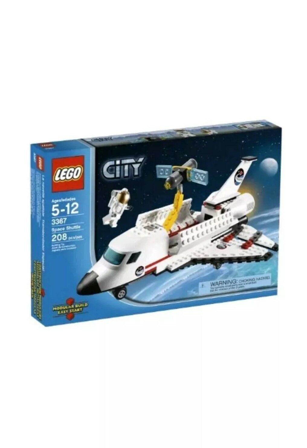 LEGO 3367 Lego City Space Shuttle RETIRED