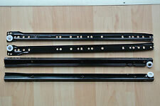 4 x Full Sets of Genuine Italian FGV Type 082 400mm drawer runners brown
