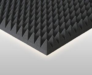 Pyramidenschaumstoffe-Akustik-Schaumstoff-Schalldaemmung-32-Stk-bzw-8m-Platten