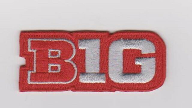Ohio State Big Ten Logo Patch Jersey Ncaa College Football