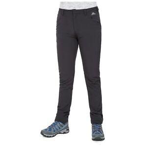 Trespass-Catria-Women-Black-Hiking-Pants-Cotton-Casual-Trousers