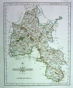 Antique-map-Oxfordshire