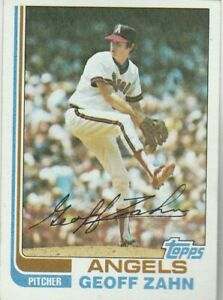 FREE-SHIPPING-MINT-1982-Topps-229-Geoff-Zahn-Angels-PLUS-BONUS-CARDS