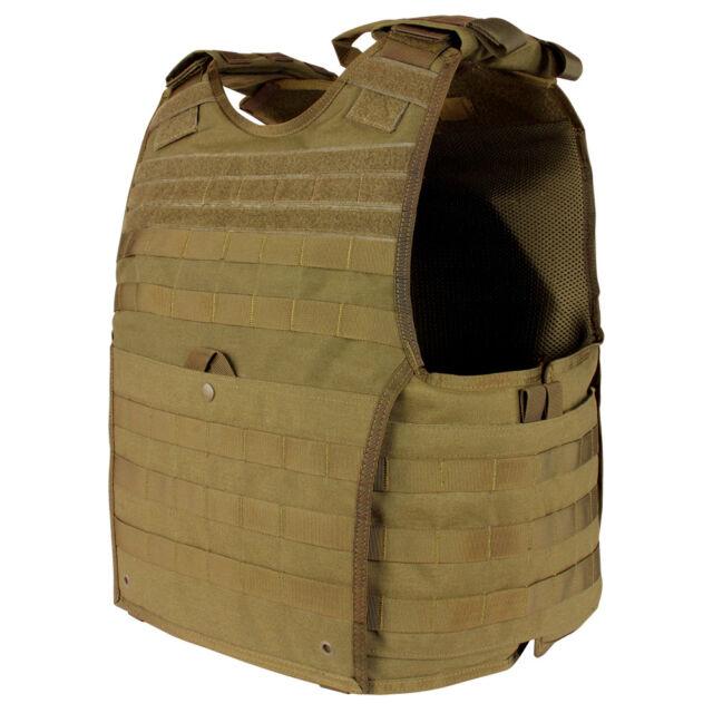 Condor MOLLE Nylon EXO Gen 2 Body Armor Plate Carrier 201165 Coyote Brown  L xl e6f084e63758