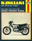 Kawasaki 250, 350 and 400 Three Cylinder Owner's Workshop Manual by Frank Meek (Paperback, 1988)