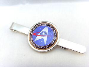 Honig Star Trek Starfleet Ingenieure Krawattenklammer Griff Stiftleiste Clip Geschenk Rheuma Lindern Krawattennadeln