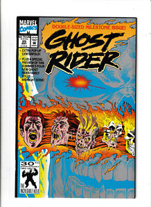 Ghost-Rider-Marvel-Comics-25-NM-9-2-Spirit-of-Vengeance-Danny-Ketch-1992