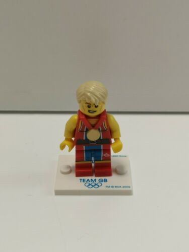 Minifigure tgb007 Team GB Lego Wondrous Weightlifter