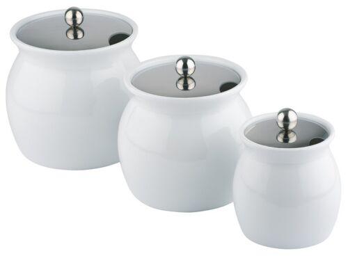 porcelaine//acier inoxydable saucentopf Dressingtopf tailles au choix haute qualité