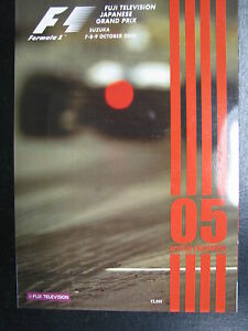 Program-Fuji-Television-Japanese-Grand-Prix-2005-7-9-October-Suzuka-PBE