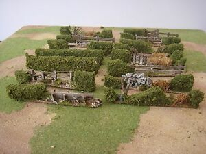 HEDGE-SECTIONS-28mm-wargames-made-to-order-NAPOLEONIC-BOLT-ACTION-FANTASY
