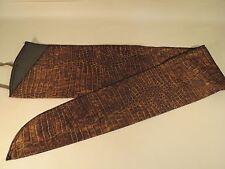 Long Gun Rifle Sleeve Sock Durable Lightweight Case Cover Brown Croc