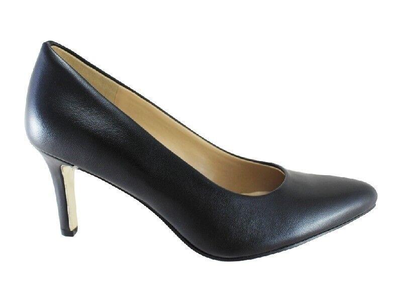 consegna gratuita e veloce disponibile New Naturalizer Natalie nero Leather Pointed Toe Pump     Heel  - RRP  179.95  design unico