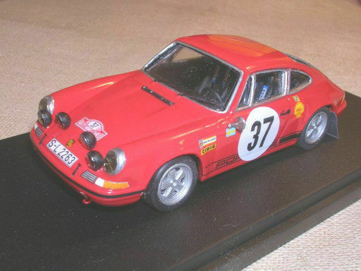 PORSCHE 911 S 2,2 RALLY MONTECARLO 1969 WALDEGAARD WINNER RACING43 1 43