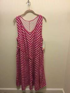 New-Woman-Striped-XXL-Dress