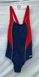 ZOGGS TORQUAY WOMENS SWIMMING COSTUME NAVY  RED SIZE 8 FREE POSTAGE - Acton Trussell, United Kingdom - ZOGGS TORQUAY WOMENS SWIMMING COSTUME NAVY  RED SIZE 8 FREE POSTAGE - Acton Trussell, United Kingdom