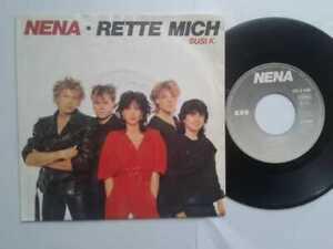 Nena-Rette-Mich-7-034-Vinyl-Single-1984-mit-Schutzhuelle