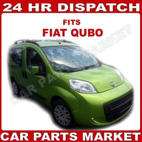 Left Passenger side Flat Wing door mirror glass for Fiat Qubo 2008-2018