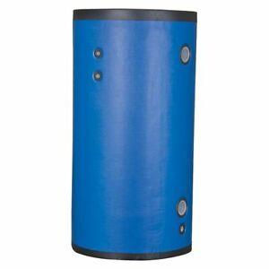 Kaltwasserspeicher 200l Stainless Steel, 30mm Isolation
