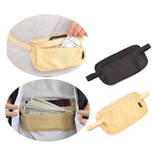 Waterproof-Travel-Wallet-Secure-Passport-Neck-Pouch-Waist-Money-Belt-Ticket-amp-Card