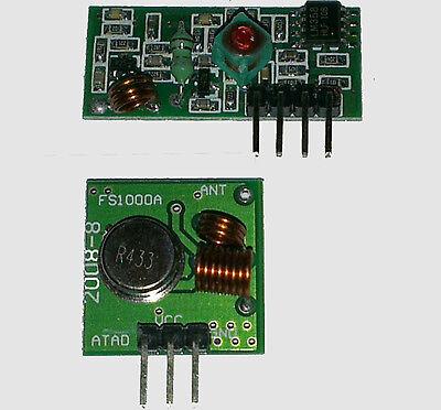 Module Emetteur / recepteur de Données serie 433 Mhz - 1 paire vendu -