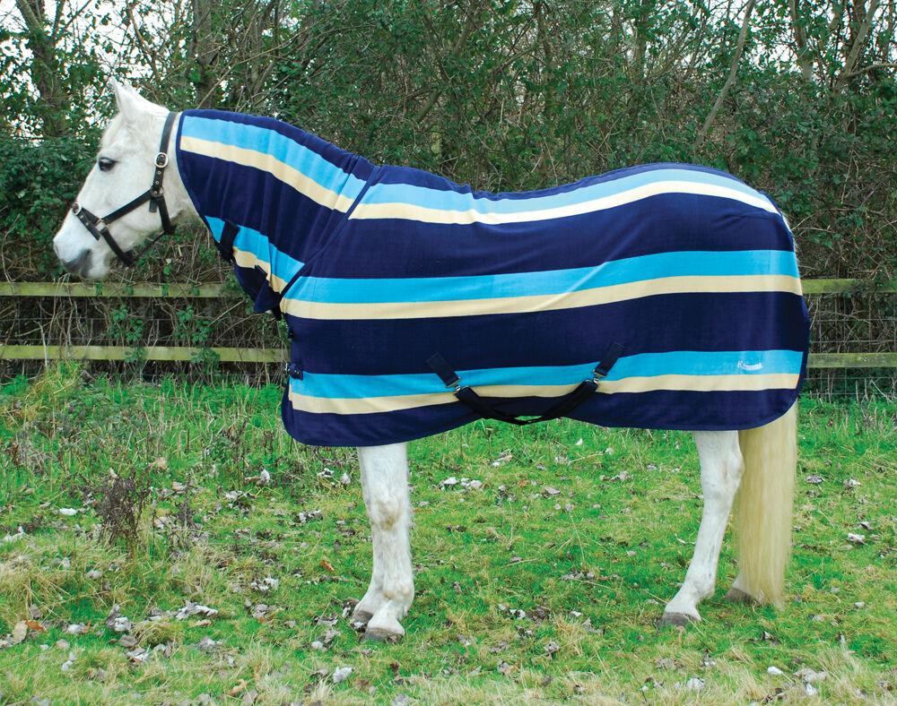 RHINEguld COMBO FLEECE HORSE RUG Stable visar resor alla storlekar