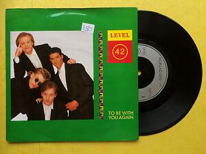 Niveau-42-Pour-etre-Avec-Vous-a-NOUVEAU-Micro-Kid-Live-Polydor-POSP-855-EX-EX