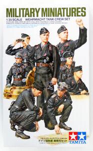Tamiya-35354-Military-Miniatures-German-Wehrmacht-Tank-Crew-Set-Kit-1-35-Scale