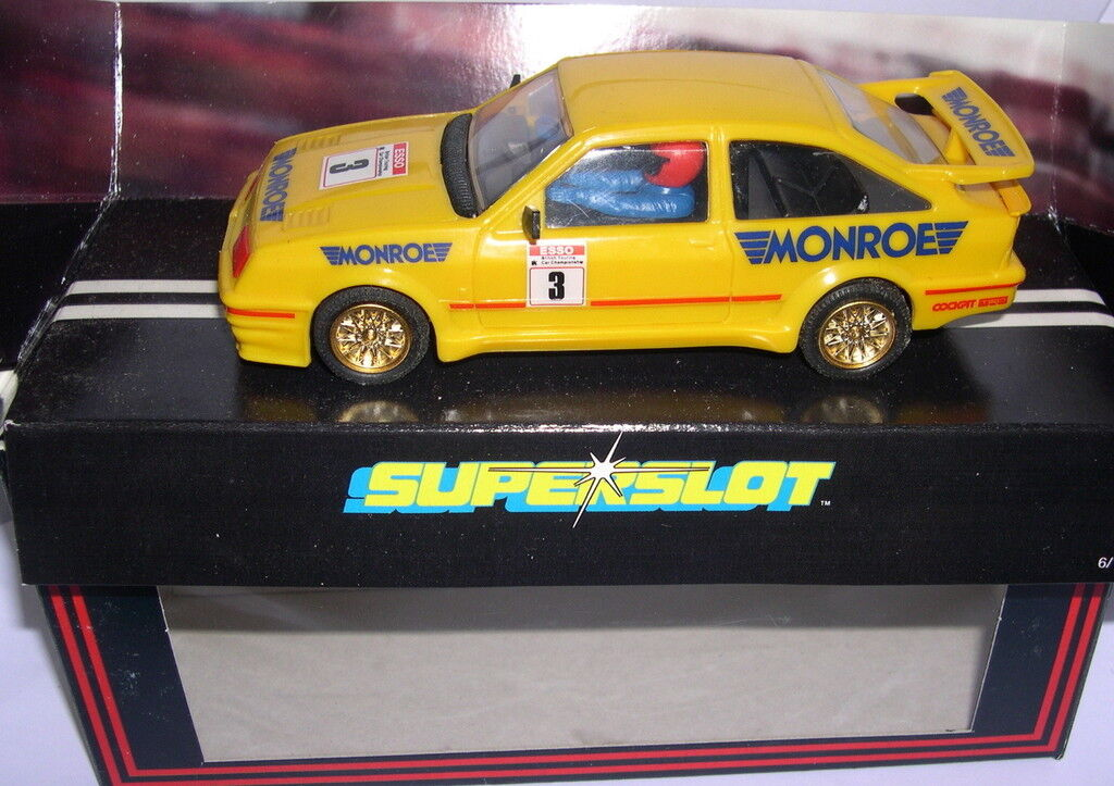 Superslot C031 Ford Sierra Rs Cosworth  3 Monroe  Scalextric UK MB  molto popolare