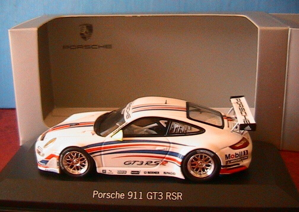 PORSCHE 911 997 GT3 RSR 2006 MINICHAMPS 1 43 PAGID BERNER BBS HAZET MOBIL 1