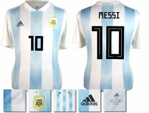 super popular 07a47 34085 Details about MESSI 10 - ARGENTINA HOME 2018 WORLD CUP ADIDAS SHIRT SS =  KIDS