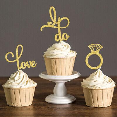 diamantbesetztes kuchen topper party dekoration hochzeit lieferungen cupcake