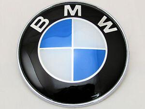 Bmw 1 3 5 7 Z3 Z4 X3 X5 Series Bonnet Badge Front Logo