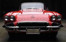 1 1960s Vette Corvette Chevy Sport Car Vintage Exotic Metal 12 Carousel Red 18