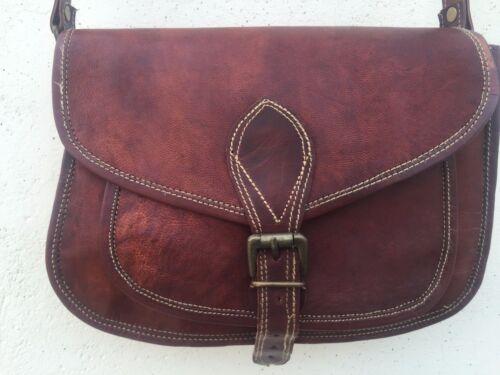 Body Bag Hobo Vintage bruin Messenger portemonnee schouder lederen Dames Sling Cross sdQCtxrh