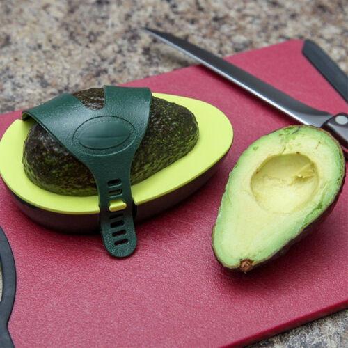 BIN Avocado Avo Stay Fresh Saver Leftover Half Food Keeper Holder Kitchen F H9K7