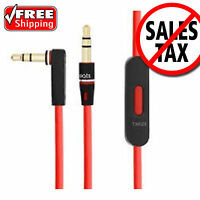 Original Cable/wire/cord For Beats By Dre Headphones Aux With Mic Hd Audio