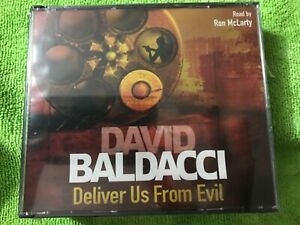 Deliver Us From Evil by David Baldacci - Audio CD abridged NEW SEALED