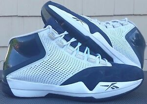 bf49696361769e Reebok Answer XII 12 men sz 13.5 navy white AI Allen Iverson RB 812 ...