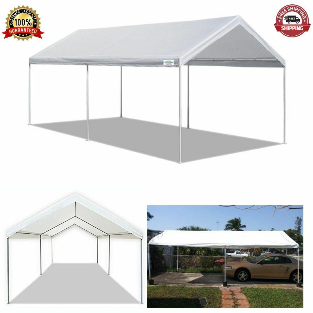 Outdoor Canopy Carport 10x20 Feet Waterproof Heavy Duty Portable Rv Car Shelter For Sale Online Ebay