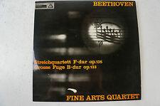 Beethoven Streichquartett op135 Grosse Fuge op133 Fine Arts Quartet (LP 13)